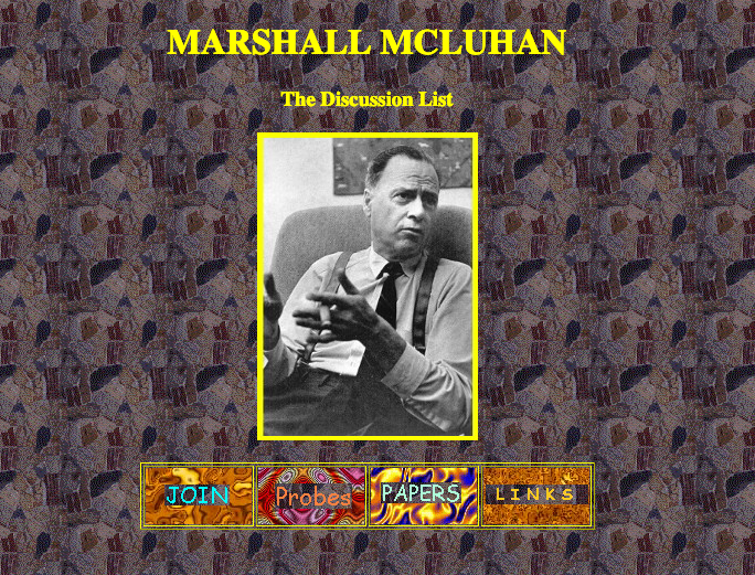 McLuhan Discussion List