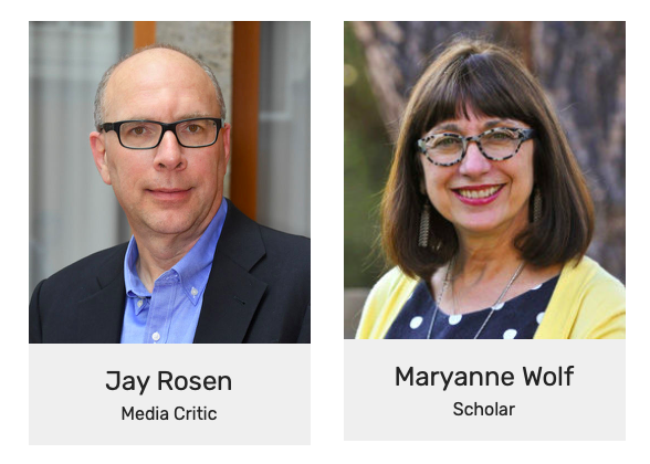 Featured speakers: Rosen and Wolf